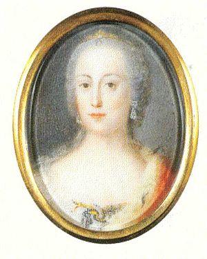 English: Archduchess Maria Anna of Austria, Pr...