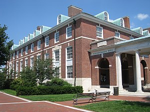 English: Mergenthaler Hall, Johns Hopkins Univ...
