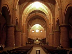 Morimondo navata centrale