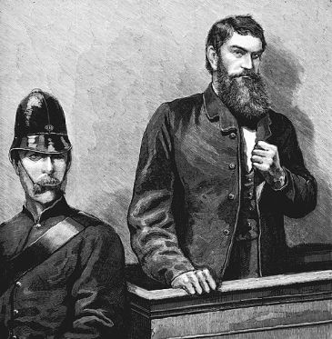 Ned Kelly in court