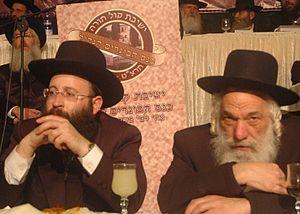 rabbi Shmuel rabinovitz Rabbi of the Western w...