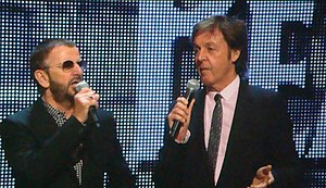 English: Ringo Starr - and Paul McCartney intr...
