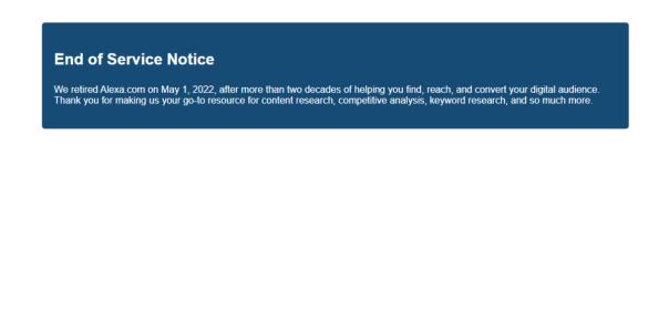 Image result for alexa ranking
