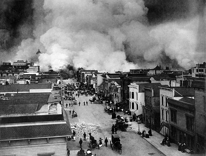 San Francisco Earthquake of 1906: Burning of S...