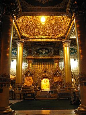 English: Location: Shwedagon Pagoda, Yangon, M...