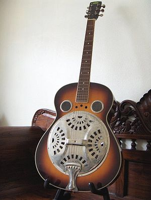 Steel guitar in the Dobro style by KayEss