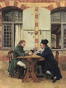 The Card Players - Ernest Meissonier