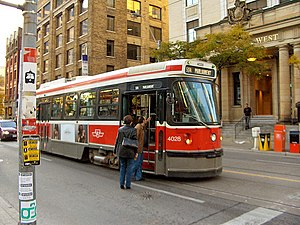 The Toronto streetcar system is an extensive t...
