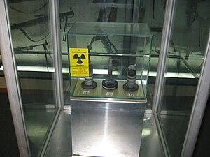 English: Depleted uranium (DU) ammunition of U...