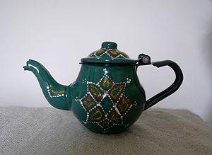Mauritanian teapot