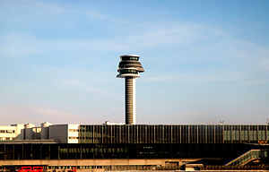 Stockholm-Arlanda airport is the largest and b...