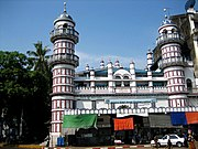 The Bengali Sunni Jameh Mosque, built in the colonial era, is one of many mosques in Yangon.