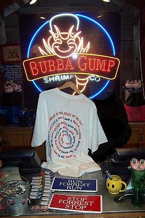 English: Bubba Gump Shrimp Company
