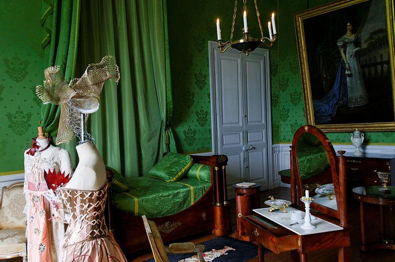 Château de Valençay Chambre de la duchesse de Dino
