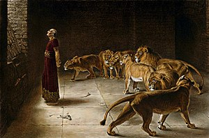 English: Daniel's Answer to the King