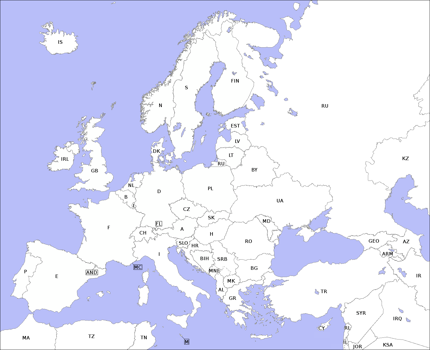 File Europe Countries Map Contours Xcf