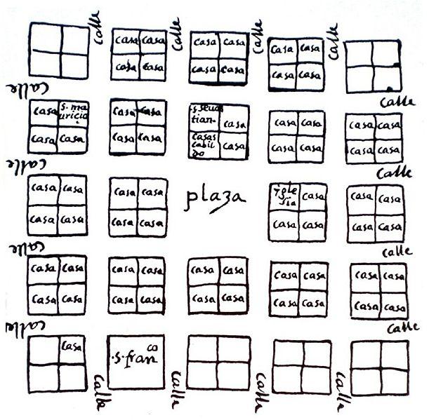 Archivo:First Map of Caracas, 1578.jpg