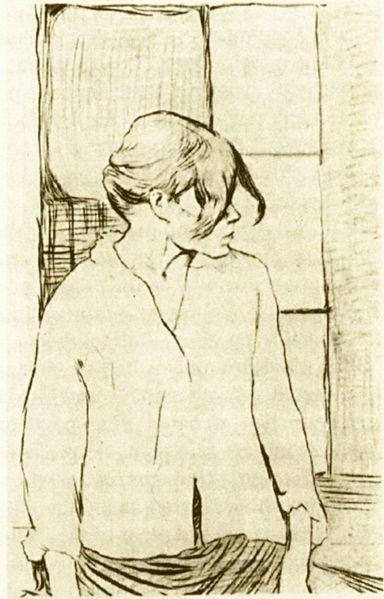 sketch of Carmen Gaudin looks like Rosa