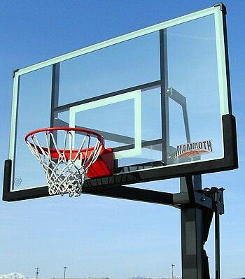 Mammoth Basketball hoop, basketball, Lifetime ...