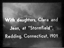 Datei:Mark Twain at Stormfield (1909).webm