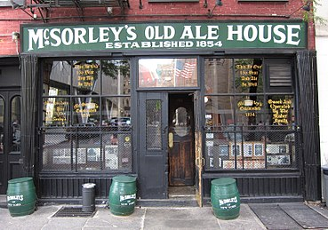 Image result for mcsorley's old ale house