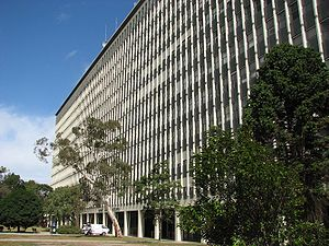 Robert Menzies Building at Monash University, ...