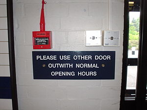 An example of Scottish English. Taken at the m...
