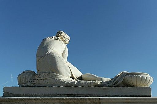 partenariat Château Versailles Wikimedia - Parc de Versailles, parterre de Latone, Nymphe à la coquille, Auguste Suchetet d'ap. Antoine Coysevox 04