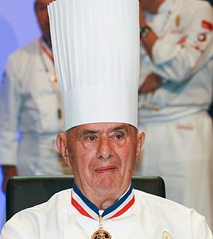 Paul Bocuse, French chef