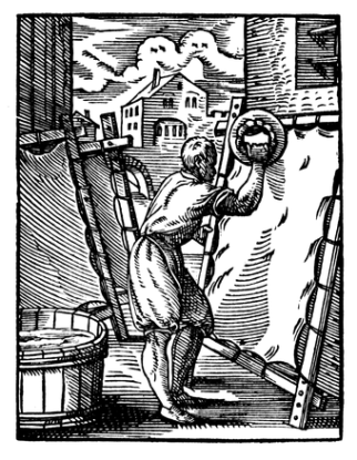 German parchmenter, 1568
