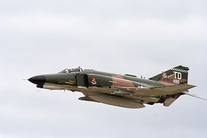 "QF-4E AF Serial No. 74-1652, the second ""..."
