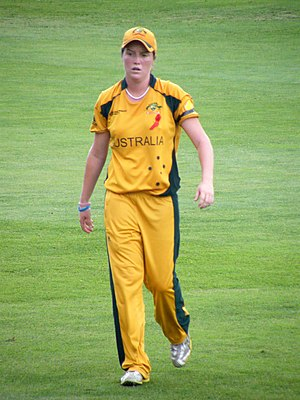 English: Rene Farrell during the 2009 Women's ...