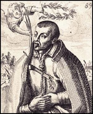 Saint Robert Southwell, S.J. (1561-1595). Illu...