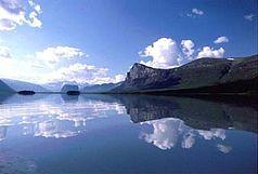 Blick in den Sarek-Nationalpark vom See Laitaure in das Rapadalen mit Skierfe rechts, Nammatj Bildmitte