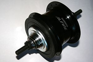 English: Shimano Alfine S-GS700 11 speed epicy...