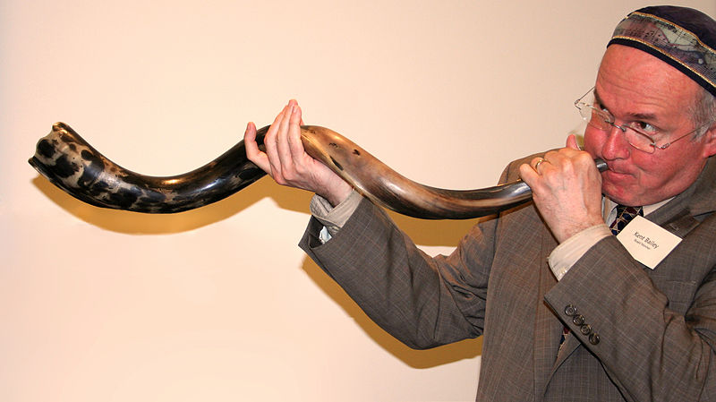 Sounding the Shofar (for purposes of demonstrating its potential)