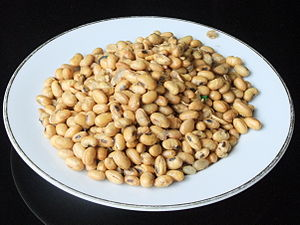 Soy bean snack