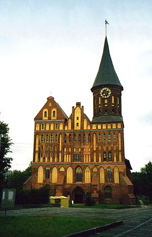 Object: Old cathedral of Kaliningrad, Russia D...