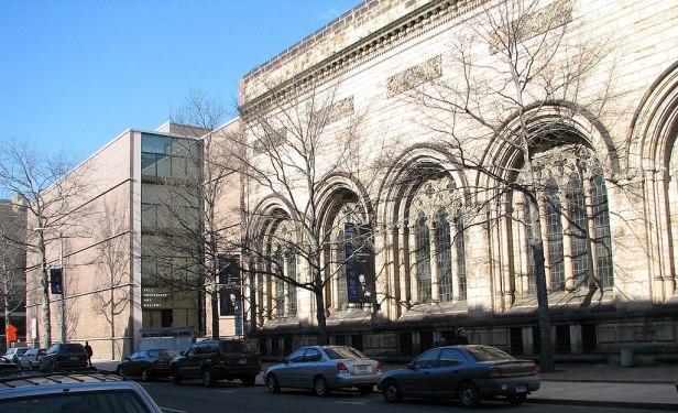 Yale University Art Gallery exterior