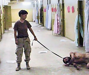 United States Army photo from Abu Ghraib priso...