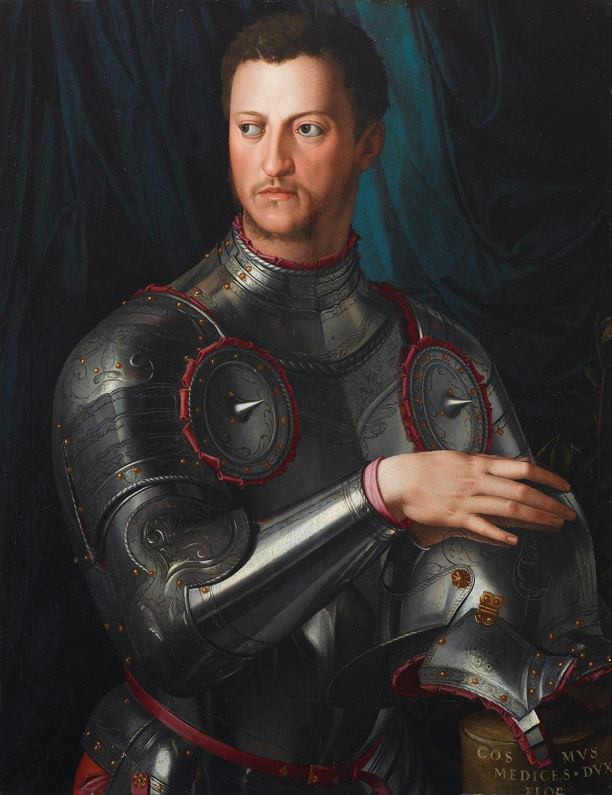 Agnolo Bronzino - Cosimo I de' Medici in armour - Google Art Project.jpg