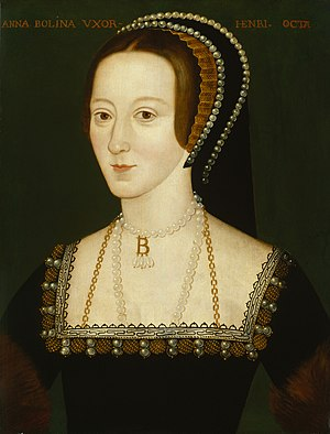 Anne Boleyn, granddaughter of Elizabeth Tilney...