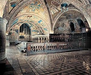 L'altare maggiore della Basilica inferiore di ...
