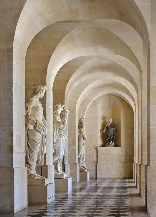 partenariat Château Versailles Wikimedia - Chateau Versailles Galerie Basse