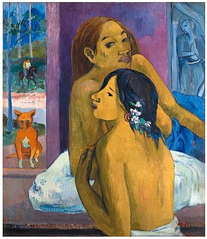 Gauguin La Chevelure fleurie