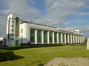 The Hoover Building, now a Tesco supermarket, ...
