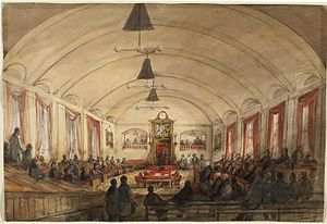 James Duncan, The House of Assembly, in the Pa...