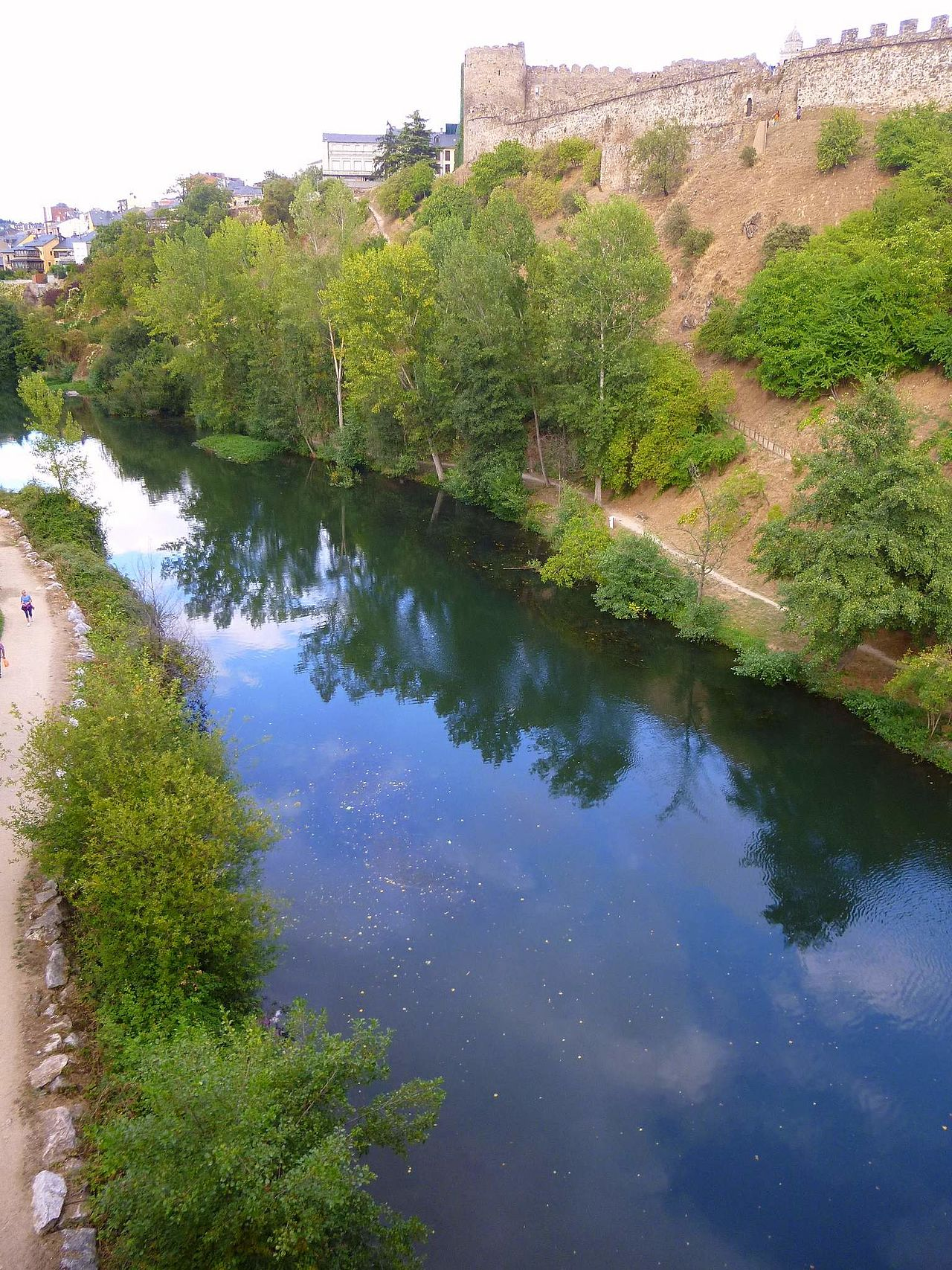 Ponferrada Río Sil River, Outdoor, Spain
