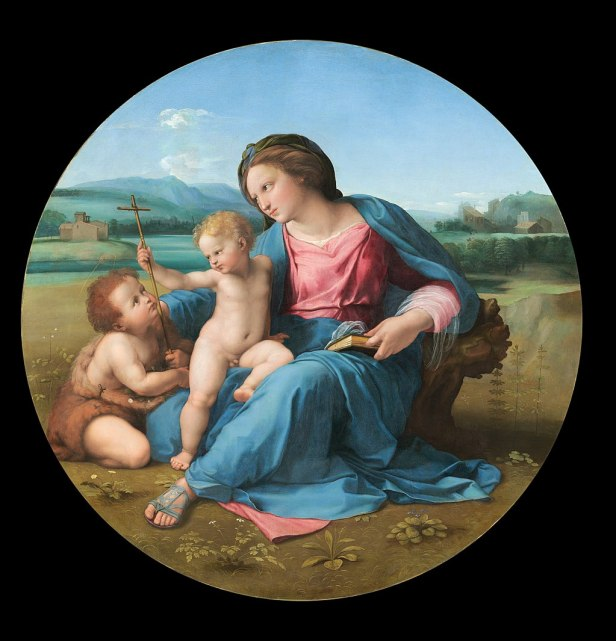 Raphael - The Alba Madonna - Google Art Project