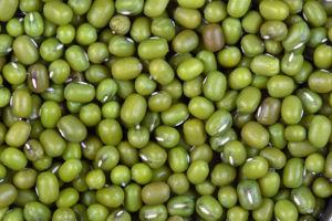 A close up picture of green gram, (mung bean, ...